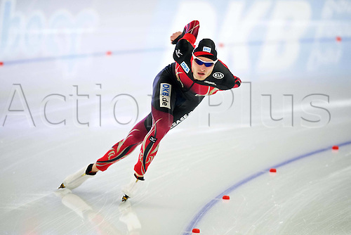 05.03.2016. Berlin Germany. World Championships of Speed skating. 5000 men Patrick Beckert (GER)