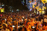 The crowd during Tet festival in Ho Chi Minh city, Vietnam-2010