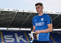 Preston North End's Jordan Storey pictured before the match<br /> <br /> Photographer Andrew Kearns/CameraSport<br /> <br /> The EFL Sky Bet Championship - Reading v Preston North End - Saturday 30th March 2019 - Madejski Stadium - Reading<br /> <br /> World Copyright © 2019 CameraSport. All rights reserved. 43 Linden Ave. Countesthorpe. Leicester. England. LE8 5PG - Tel: +44 (0) 116 277 4147 - admin@camerasport.com - www.camerasport.com