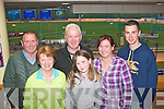"9283-9286.---------.Barking fun.-----------.Even though their dog ""Annadale Turbo""had no luck in his race,the owners still enjoyed a nightout at the Tralee greyhound stadium,last Friday were(front)Renee,Amy and Sharon Clifford(Killorglin)back,Teddy Cronin(Killorglin)Chris Houlihan(Ballyduff,trainer)and James Sweeney(Killorglin)."