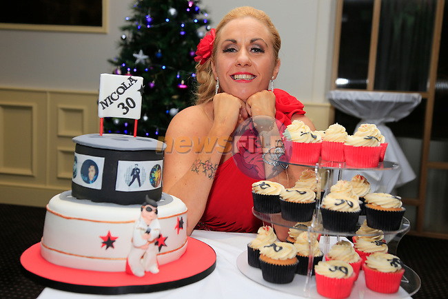 Nicola McDonnell 30th in the D Hotel<br /> <br /> Picture: Fran Caffrey www.newsfile.ie