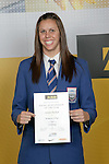 Girls Swimming winner Penelope Marshall. ASB College Sport Young Sportperson of the Year Awards 2007 held at Eden Park on November 15th, 2007.