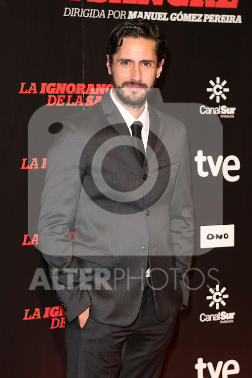 "Juan Diego Botto attends ""La Ignorancia de la Sangre"" Premiere at Capitol Cinema in Madrid, Spain. November 13, 2014. (ALTERPHOTOS/Carlos Dafonte)"