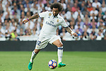 Marcelo Vieira of Real Madrid during the match of La Liga between Real Madrid and Futbol Club Barcelona at Santiago Bernabeu Stadium  in Madrid, Spain. April 23, 2017. (ALTERPHOTOS)