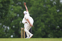 Monty Panesar of Hornchurch makes an appeal during Shenfield CC (batting) vs Hornchurch CC (Bowling) ,Shepherd Neame Essex League Cricket at Chelmsford Road on 12th May 2018
