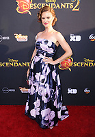 """11 July 2017 - Hollywood, California - Keegan Connor Tracy. Disney's """"Descendants 2"""" Los Angeles Premiere held at the ArcLight Cinerama Dome in Hollywood. Photo Credit: Birdie Thompson/AdMedia"""
