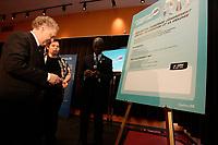 Quebec Premier Jean Charest in February 2012<br /> <br /> File Photo : Agence Quebec Presse