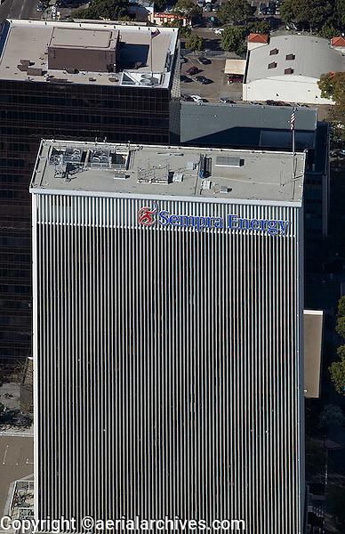 aerial photograph Sempra Energy San Diego, California