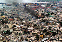 Port Au Prince, Haiti, Jan 19, 2010.Downtown Port au Prince is one of the most affected areas, with most landmarks suffering extensive damage. Large scale looting and violent confrontation with the police are continuous...