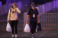 WASHINGTON, D.C. - JULY 30: Major League Baseball's Toronto Blue Jays seen exiting Nationals Park after a 6-4 loss against the Washington Nationals during the COVID-19-shortened season in Washington D.C. on July 30, 2020. Credit: mpi34/MediaPunch