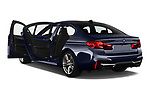 Car images close up view of a 2019 BMW M5 Competition Base 4 Door Sedan doors