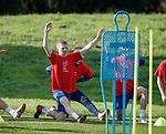 051018 Rangers training
