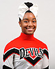 Avery Taylor of Freeport poses for a portrait during the Newsday All-Long Island cheerleading photo shoot at company headquarters on Tuesday, Mar. 15, 2016.