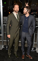Gerard Butler &amp; Jim Sturgess at the premiere for &quot;Geostorm&quot; at TCL Chinese Theatre, Hollywood. Los Angeles, USA 16 October  2017<br /> Picture: Paul Smith/Featureflash/SilverHub 0208 004 5359 sales@silverhubmedia.com