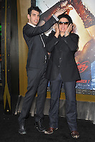 KISS star Gene Simmons &amp; son Nick Simmons at the premiere of &quot;300: Rise of an Empire&quot; at the TCL Chinese Theatre, Hollywood.<br /> March 4, 2014  Los Angeles, CA<br /> Picture: Paul Smith / Featureflash