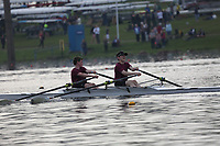 Race: 91  Event: J14 2x   Final B <br /> <br /> Junior Inter Regional Regatta 2018<br /> <br /> To purchase this photo, or to see pricing information for Prints and Downloads, click the blue 'Add to Cart' button at the top-right of the page.