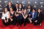 'Verano 1993' film receives the Best Film Award during Feroz Awards 2018 at Magarinos Complex in Madrid, Spain. January 22, 2018. (ALTERPHOTOS/Borja B.Hojas)
