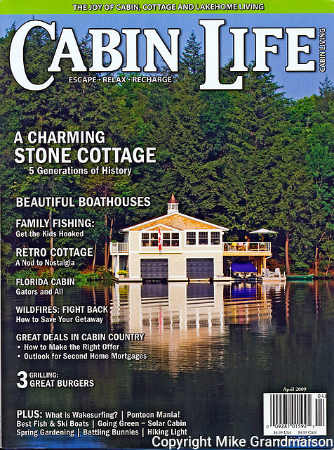 PRODUCT: Magazine<br /> TITLE: <br /> CLIENT: Cabin Life