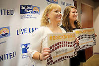 NWA Democrat-Gazette/DAVID GOTTSCHALK Photographed  Thursday, August 27, 2015 at the beginning of the annual United Way of Northwest Arkansas annual campaign kickoff at the Donald W. Reynolds Center for Enterprise Development on the campus of the University of Arkansas in Fayetteville. This year the workplace campaign will focus on educating the community about a pathway out of poverty for childrent and how to get involved to help change the statistics. Keynote speaker for the morning event was congressman Steve Womack.