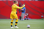 Erin McLeod (CAN), JUNE 21, 2015 - Football / Soccer : <br /> FIFA Women's World Cup Canada 2015 Round of 16 match between Canada 1-0 Switzerland at BC Place Stadium, <br /> Vancouver, Canada. (Photo by Yusuke Nakansihi/AFLO SPORT)