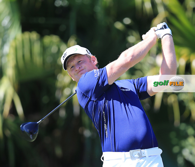 Jamie Donaldson (WAL) on the 8th during day one at the WGC Cadillac championship at Doral Golf Resort & Spa,Doral, Florida,USA..Picture: Fran Caffrey / www.golffile.ie ..