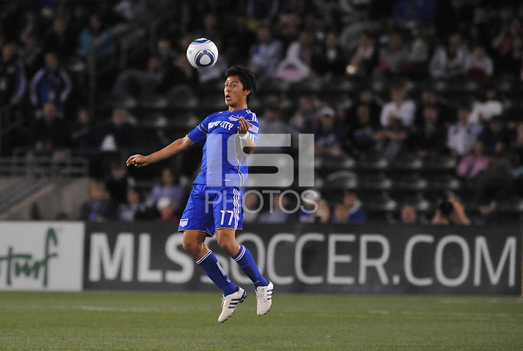 Roger Espinoza...Kansas City Wizards defeated Colorado Rapids 1-0 at Community America Ballpark, Kansas City, Kansas.