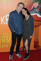 "07 April 2019 - New York, New York - Carter Burwell and Christine Sciulli at the New York Premiere of ""MISSING LINK"", held at Regal Cinemas Battery Park II. Photo Credit: LJ Fotos/AdMedia"