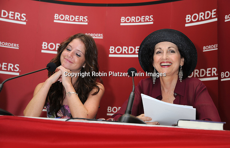 Brittany Underwood and Robin Strasser