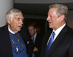 Rev. James Parks Morton and Al Gore attend the 12th Annual James Parks Morton Interfaith Awards Dinner at The Hilton Hotel Midtown on June 5, 2014 in New York City.