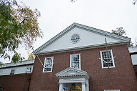 This building on Brattle Street houses Harvard College's undergraduate Office of Admissions in Cambridge, Massachusetts, USA, on Mon., Oct 15, 2018.