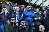Blackburn Rovers' Fans enjoying the pre-match atmosphere <br /> <br /> Photographer Rachel Holborn/CameraSport<br /> <br /> The EFL Sky Bet Championship - Preston North End v Blackburn Rovers - Saturday 24th November 2018 - Deepdale Stadium - Preston<br /> <br /> World Copyright © 2018 CameraSport. All rights reserved. 43 Linden Ave. Countesthorpe. Leicester. England. LE8 5PG - Tel: +44 (0) 116 277 4147 - admin@camerasport.com - www.camerasport.com