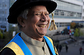 Muhammad Yunus becomes Chancellor of Glasgow Caledonian University - the Bangladeshi banker and economist is a Nobel Peace Prize recipient and a Director of the United Nations Foundation - he has also appeared in The Simpsons! - picture by Donald MacLeod - 26.10.12 - 07702 319 738 - clanmacleod@btinternet.com - www.donald-macleod.com