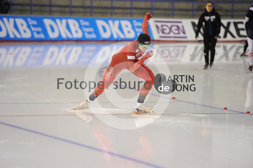 SPEEDSKATING: CALGARY: Olympic Oval, 25-02-2017, ISU World Sprint Championships, 500m Ladies, Hege Bøkko (NOR), ©photo Martin de Jong