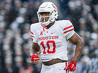 Annapolis, MD - OCT 8, 2016: Houston Cougars defensive tackle Ed Oliver (10) in action during game between Houston and Navy at Navy-Marine Corps Memorial Stadium Annapolis, MD. The Midshipmen upset #6 Houston 46-40. (Photo by Phil Peters/Media Images International)