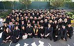 Jump Start students from high schools around the region pose before the start of the Western Nevada College 2017 Commencement in Carson City, Nev. on Monday, May 22, 2017.  <br />