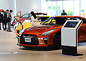 May 11, 2017, Yokohama, Japan - Customers check vehicles of Japanese automobile giant Nissan Motor at Nissan's showroom in Yokohama, suburban Tokyo on Thursday, May 11, 2017. Nissan said its operating profit was 742 billion yen, down 6.4 percent from previous year.   (Photo by Yoshio Tsunoda/AFLO) LwX -ytd-