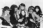 Rick James 1984 with Mary Jane Girls at American Music awards.© Chris Walter.