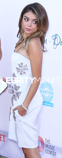 LOS ANGELES, CA, USA - JULY 19: Sarah Hyland at the 4th Annual Celebration Of Dance Gala Presented By The Dizzy Feet Foundation held at the Dorothy Chandler Pavilion at The Music Center on July 19, 2014 in Los Angeles, California, United States. (Photo by Xavier Collin/Celebrity Monitor)