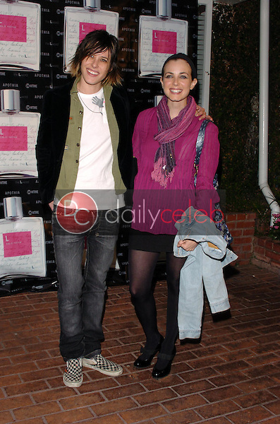 "Katherine Moennig and Mia Kirshner<br />at the launch of ""L eau de parfum"". Fred Segal, Los Angeles, CA. 02-15-06<br />Scott Kirkland/DailyCeleb.Com 818-249-4998"