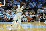 06 November 2015: North Carolina's Theo Pinson. The University of North Carolina Tar Heels hosted the Guilford College Quakers at the Dean E. Smith Center in Chapel Hill, North Carolina in a 2015-16 NCAA Men's Basketball Exhibition game. UNC won the game 99-49.