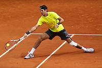 JM Del Potro (Arg) wins against M. Cilic. Roland Garros- French Open Paris - France Event Date June 1, 2012.