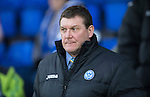 St Johnstone v Aberdeen.....07.12.13    SPFL<br /> Saints manager Tommy Wright looks on<br /> Picture by Graeme Hart.<br /> Copyright Perthshire Picture Agency<br /> Tel: 01738 623350  Mobile: 07990 594431