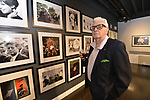"Legendary photographer Harry Benson and St. Louis artist Peter Manion with their exhibitions -- Manion's ""Artificial Turf"" and Benson's ""Kings & Queens"" -- at the World Chess Hall of Fame Fall Exhibit Opening Reception on Friday, Oct. 5, 2018 in St. Louis. (Tim Vizer/AP Images for World Chess Hall of Fame)"