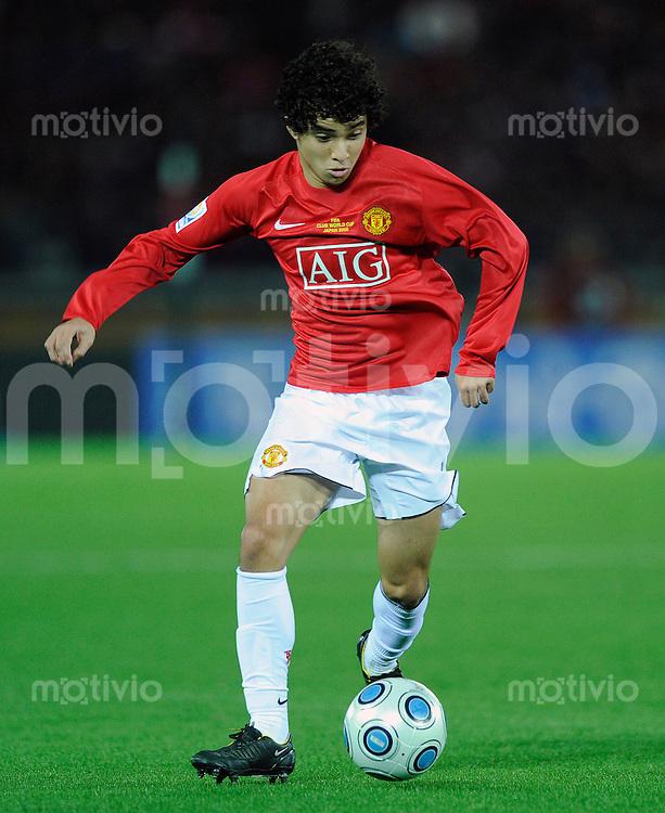 Fussball international 2008/2009 21.12.2008  FIFA Club WM Japan 2008 Finale Liga de Quito - Manchester United RAFAEL (ManU).