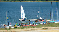 Ferienressort und Wassersportzentrum entsteht an der Schladitzer Bucht bei Rackwitz.   Foto: Norman Rembarz