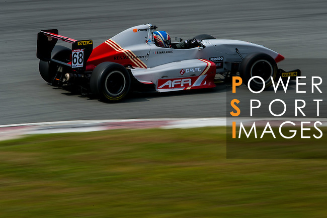 Sebastien Mailleux of PS Racing drives during the 2015 AFR Series as part the 2015 Pan Delta Super Racing Festival at Zhuhai International Circuit on September 20, 2015 in Zhuhai, China.  Photo by Aitor Alcalde/Power Sport Images