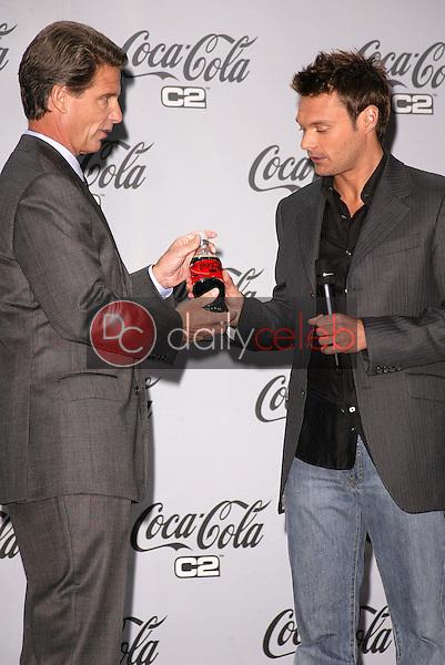 Coca Cola COO Don Knauss and Ryan Seacrest