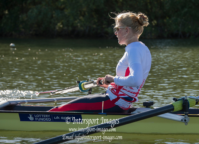 Caversham, United Kingdom,  GBR W2-, Polly SWANN.  GBR Rowing, European Championships, team announcement, of crews competing in Belgrade, in May. Venue, GBR rowing training base, near Reading,<br /> 08:26:00  14/05/2014   14/05/2014  <br /> [Mandatory Credit: Peter Spurrier/Intersport<br /> Images]