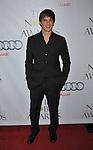 BEVERLY HILLS, CA. - October 18: Matt Lanter arrives at the First Annual Noble Humanitarian Awards at The Beverly Hilton Hotel on October 18, 2009 in Beverly Hills, California.