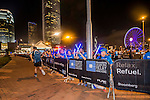 Participants in action during the Bloomberg Square Mile Relay on 5 November 2015 in Hong Kong, China. Photo by Kitmin Lee / Power Sport Images